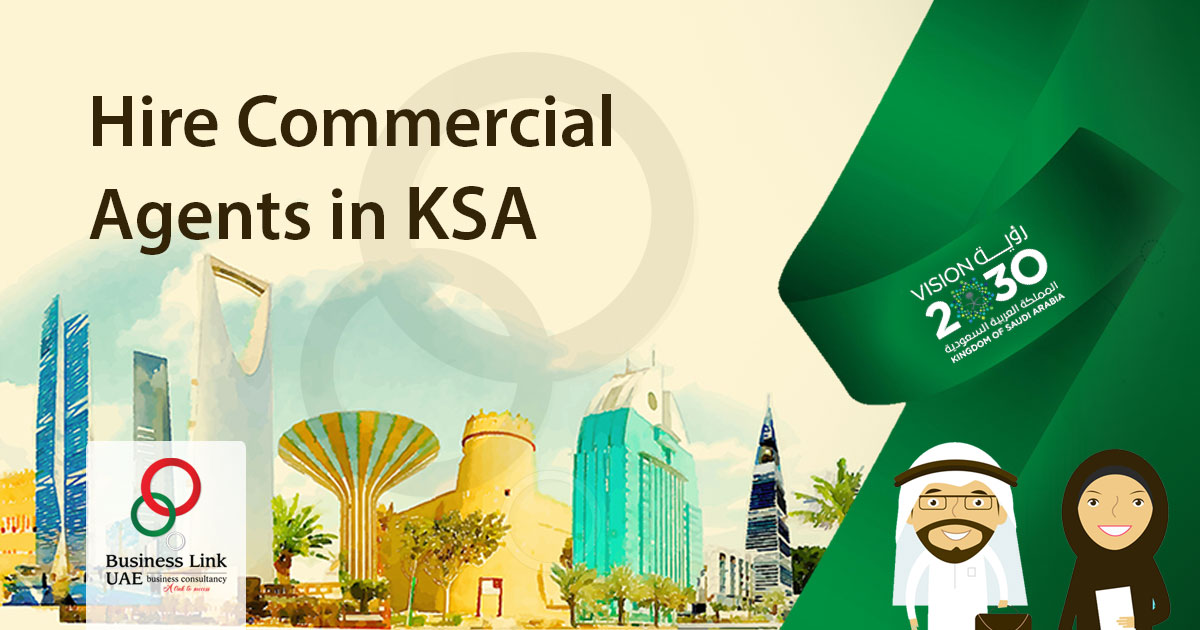 Hire-Commercial Agents in KSA